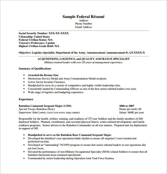 federal resume template free word excel pdf format premium templates deedy bookstore Resume Free Federal Resume Template