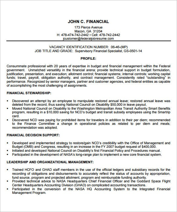federal resume template word pdf free premium templates financial manager assembly Resume Free Federal Resume Template Word