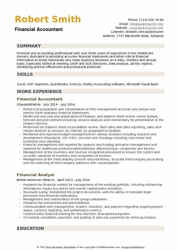 financial accountant resume samples qwikresume professional accounting pdf everest Resume Professional Accounting Resume