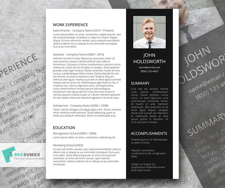 fine balance creative and professional resume template freesumes outline word document Resume Creative And Professional Resume