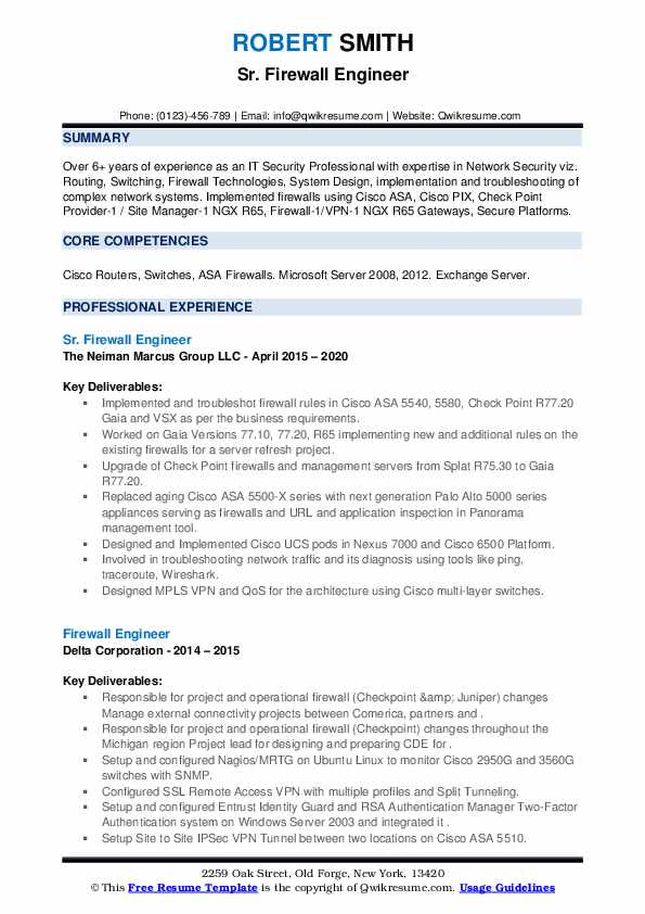 firewall engineer resume samples qwikresume checkpoint pdf marketing internship objective Resume Checkpoint Firewall Engineer Resume