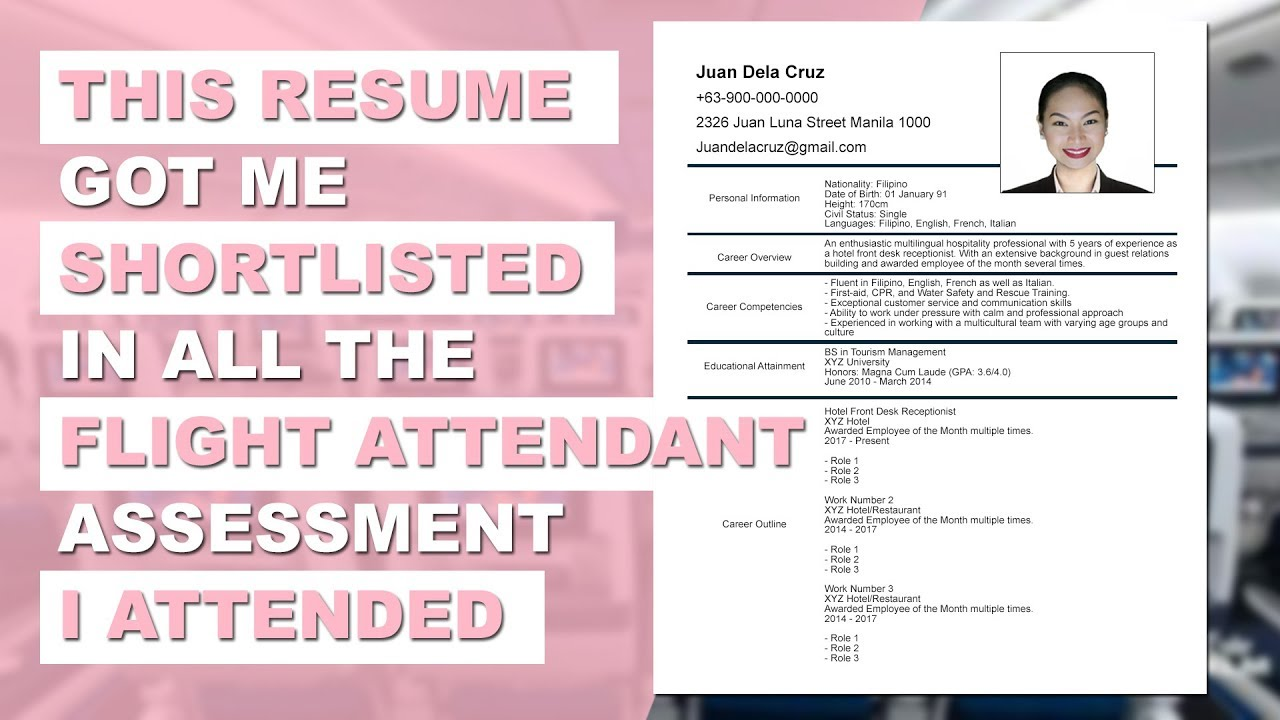 flight attendant resume sample format no experience emirates dairy queen cover letter for Resume Flight Attendant Resume