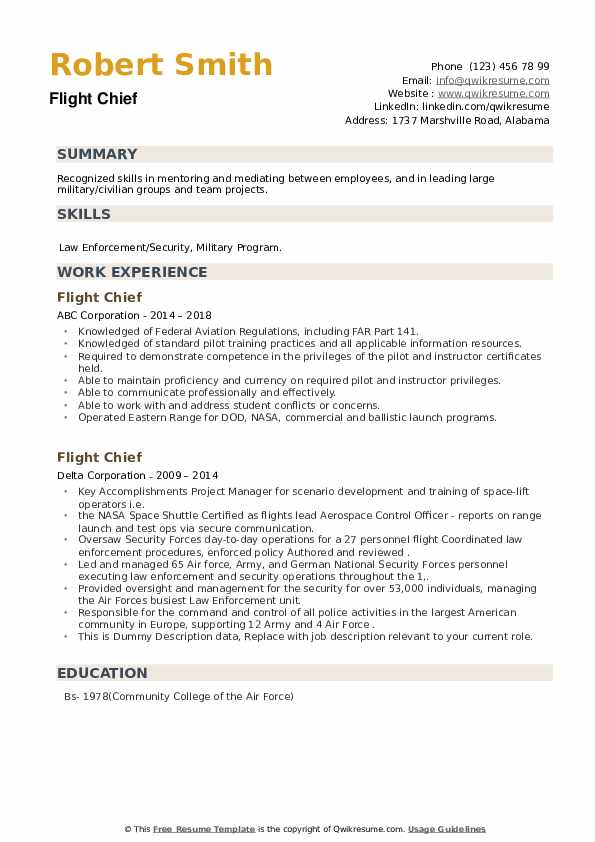 flight chief resume samples qwikresume air force address for pdf bricklayer job Resume Air Force Address For Resume