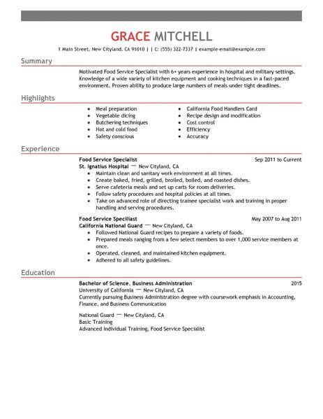 for food service resume samples format sample acting layout best linkedin follow up email Resume Sample Food Service Resume