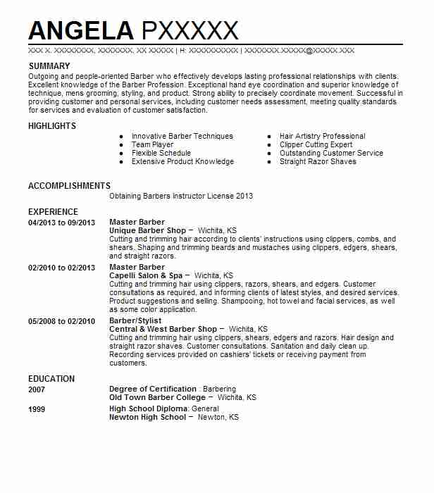 for resume samples format shop owner functional template word payday loan examples Resume Barber Shop Owner Resume