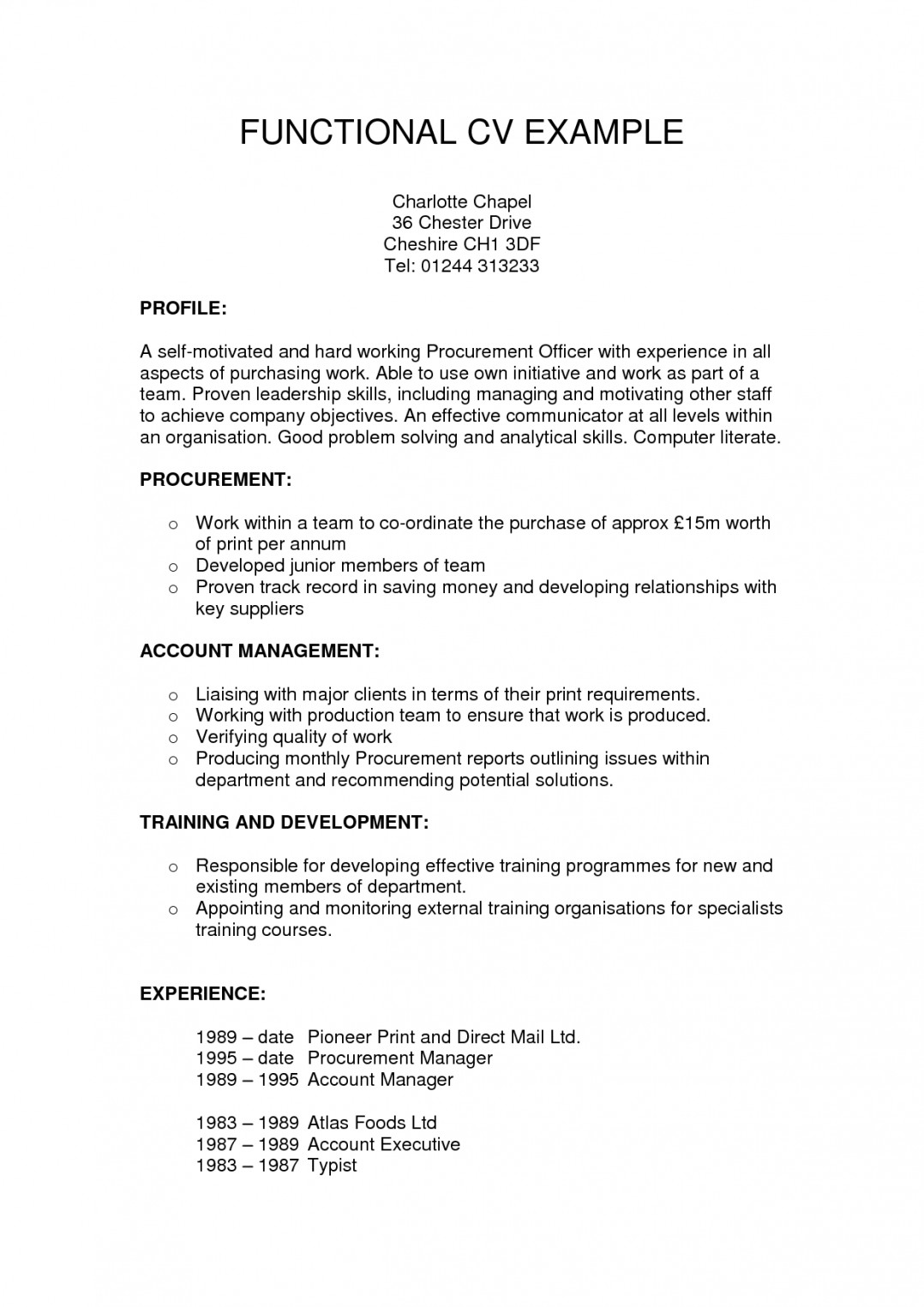 format for functional resume template builder example remarkable examples of staringat Resume Functional Resume Example
