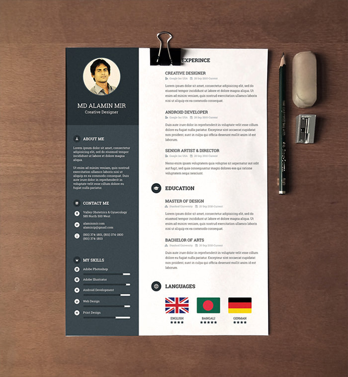 free beautiful resume templates to hongkiat eye catching sample for production support Resume Eye Catching Resume Templates