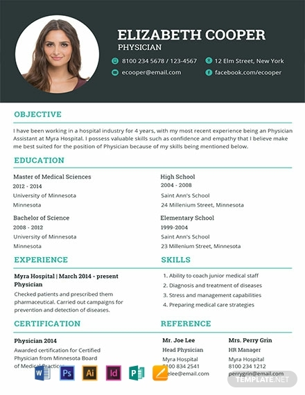 free best medical resume examples templates now doctor template word physician general Resume Doctor Resume Template Word
