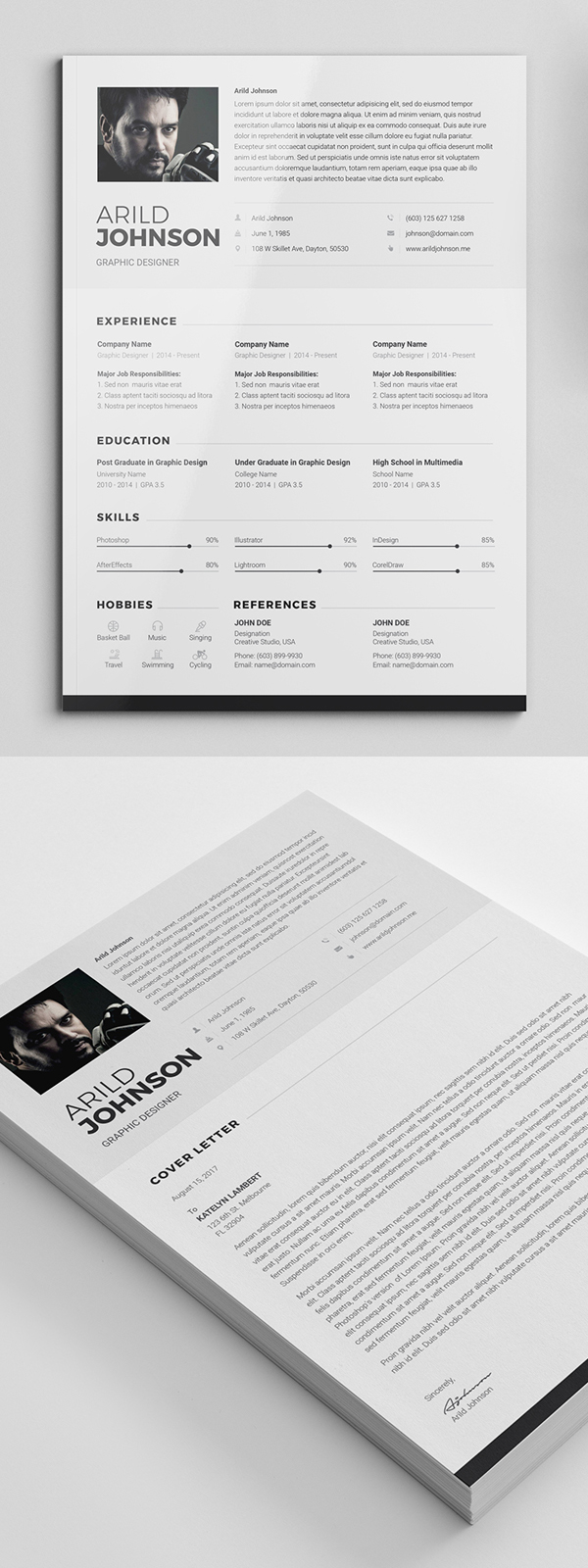 free cv resume templates best for design graphic junctiongraphic junction professional Resume Professional Resume Templates 2018 Free Download