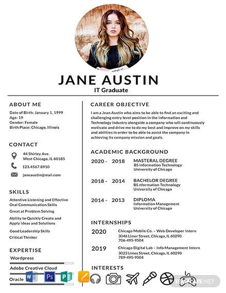 free fresher resume examples in ms word latest format for freshers basic template good Resume Latest Resume Format 2017 For Freshers