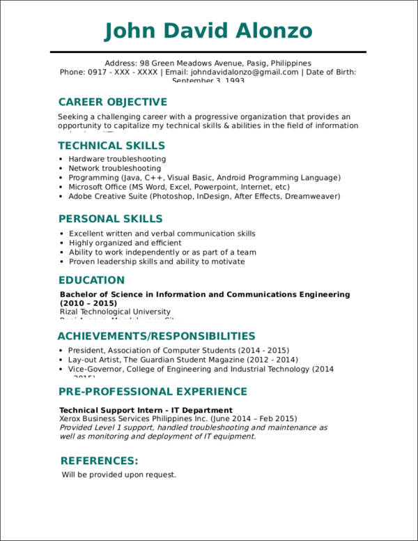free impactful resume updates with samples traditional template format awesome ideas Resume Traditional Resume Template