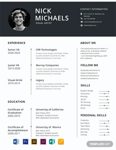 free one resume templates word indesign apple publisher illustrator template net format Resume One Page Resume Template Word Free