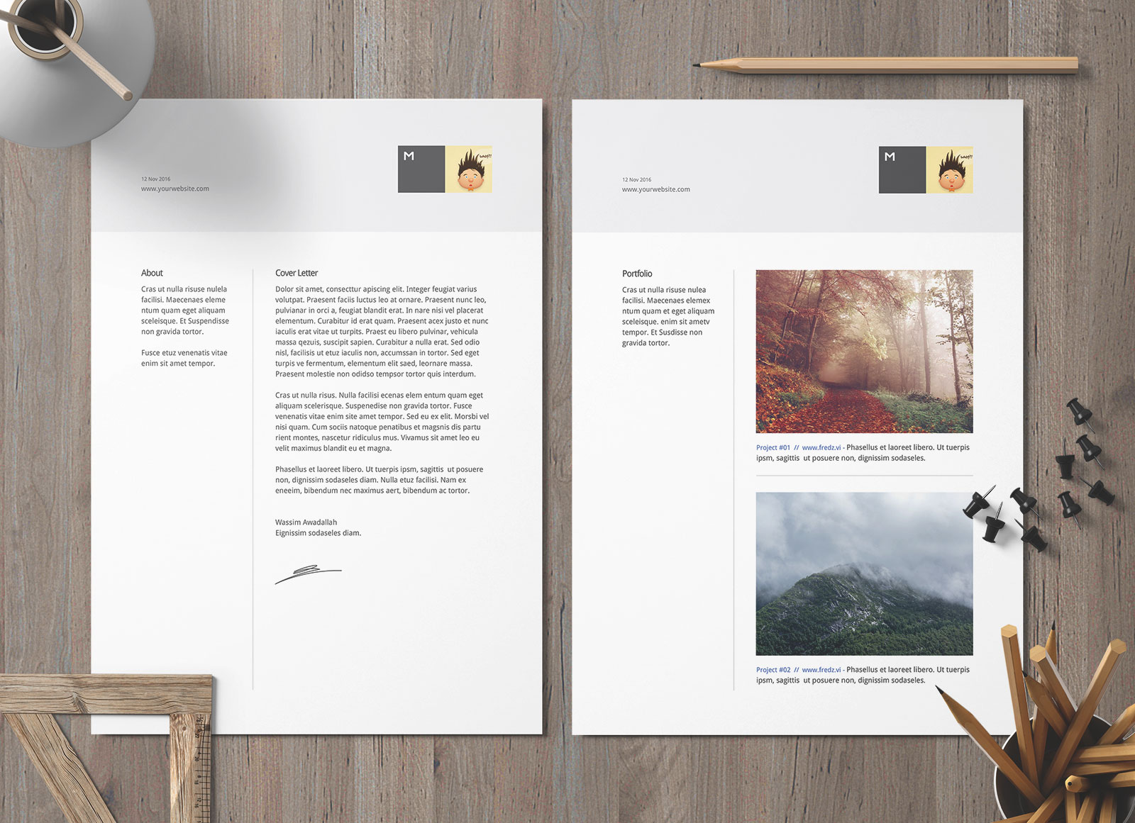 free perfect resume template and cover letter for architects designers good portfolio Resume Resume Portfolio Template Free