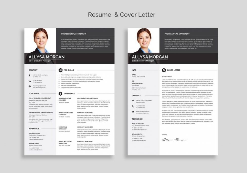 free professional resume template word maxresumes one 1000x700 directional drilling Resume One Page Resume Template Word Free