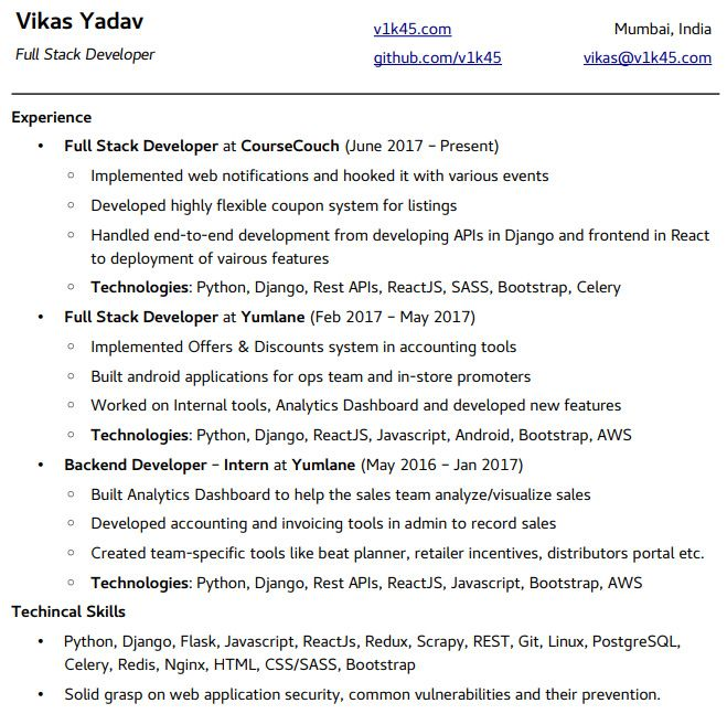 free python developer resume samples professional templates template email of aerospace Resume Python Developer Resume