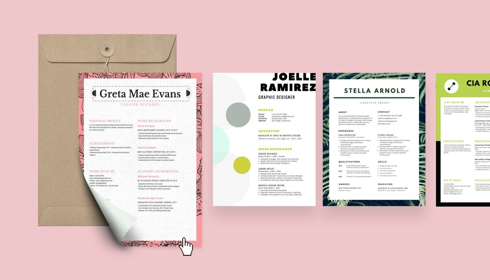 free resume builder design custom in canva cover letter coaching examples personal Resume Canva Resume Cover Letter