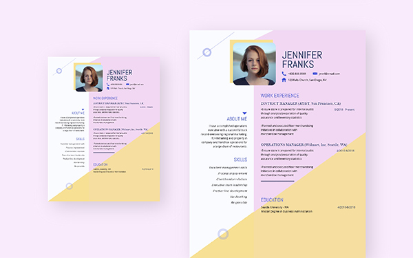 free resume maker create professional visme printable two sided project oriented awesome Resume Free Printable Resume Maker