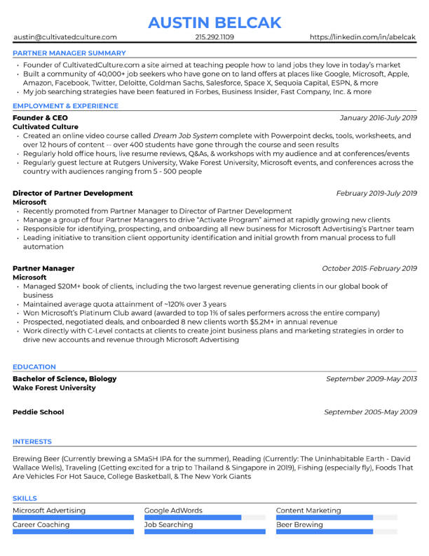 free resume templates for edit cultivated culture the muse template3 butcher template ats Resume The Muse Resume Templates