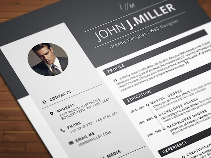 free resume templates for microsoft word to make your own contemporary neat and confident Resume Contemporary Resume Templates Free Word