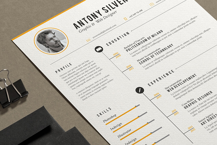 free resume templates open office libreoffice ms word template from envato elements Resume Libreoffice Resume Template