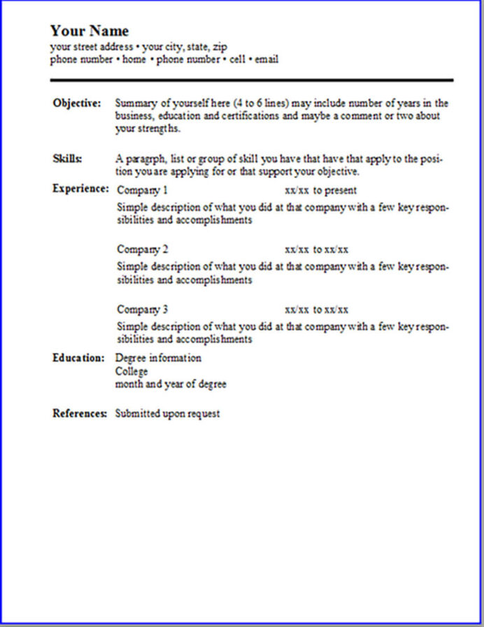 free resume templates open office libreoffice ms word template simple experience based Resume Libreoffice Resume Template