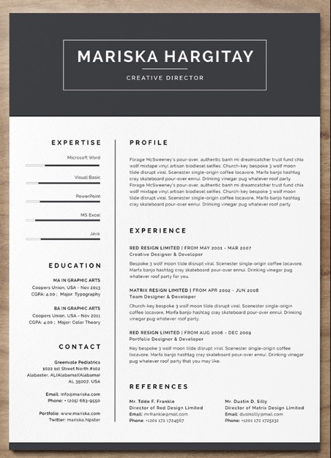 free resume word templates to impress your employer responsive muse widgets template two Resume Word Resume Template Two Column