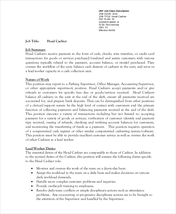 free sample cashier resume templates in ms word pdf objective head medical assistant Resume Cashier Resume Objective