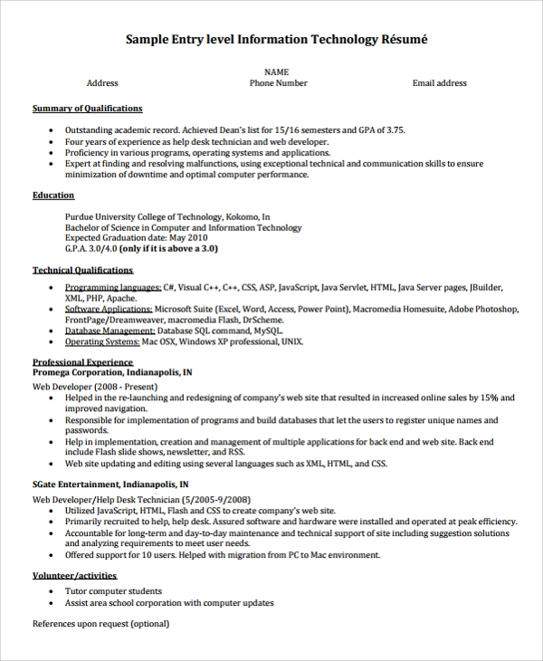 free sample college graduate resume templates in ms word pdf recent grad entry level Resume Recent College Grad Resume