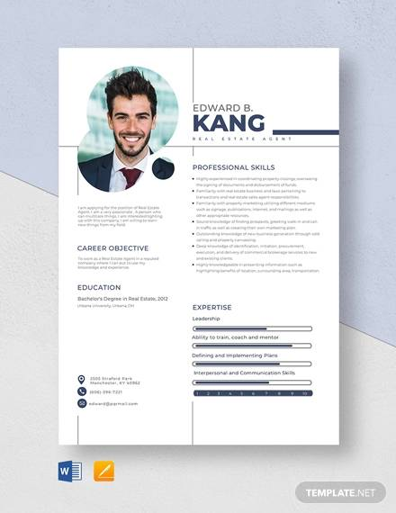 free sample estate agent resume templates in ms word pdf example template catching fire Resume Real Estate Resume Example