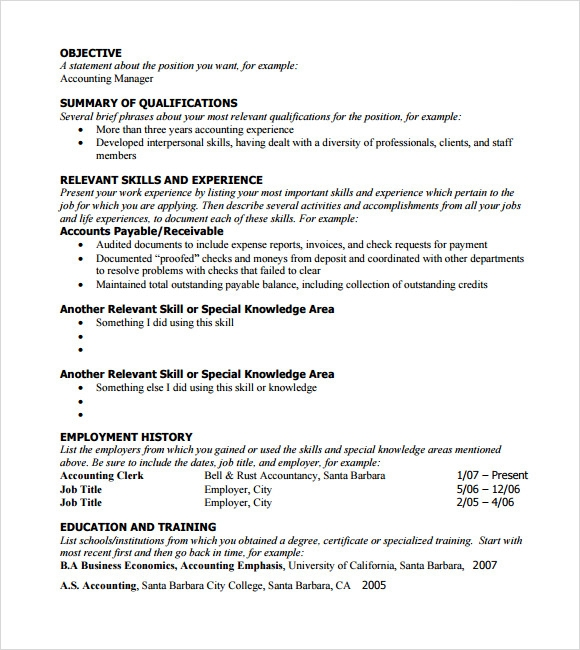 free sample functional resume templates in pdf example template bookkeeper duties and Resume Functional Resume Example
