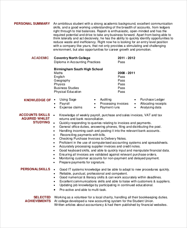 free sample general resume objective templates in pdf ms word for office clerk accounting Resume Resume Objective For Office Clerk