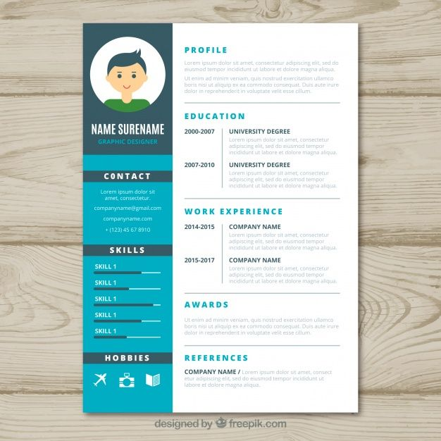 free vector graphic designer cv template design resume content need good registration Resume Graphic Designer Resume Content