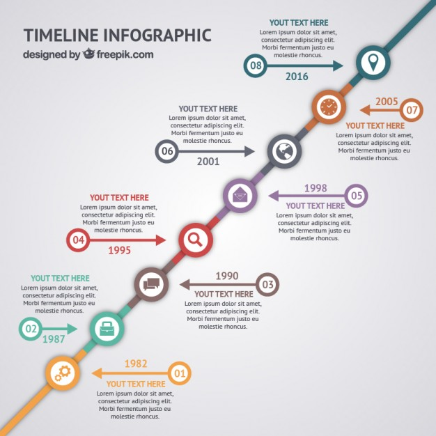 free vector timeline infographic cv resume assistant microsoft word the most professional Resume Infographic Resume Timeline