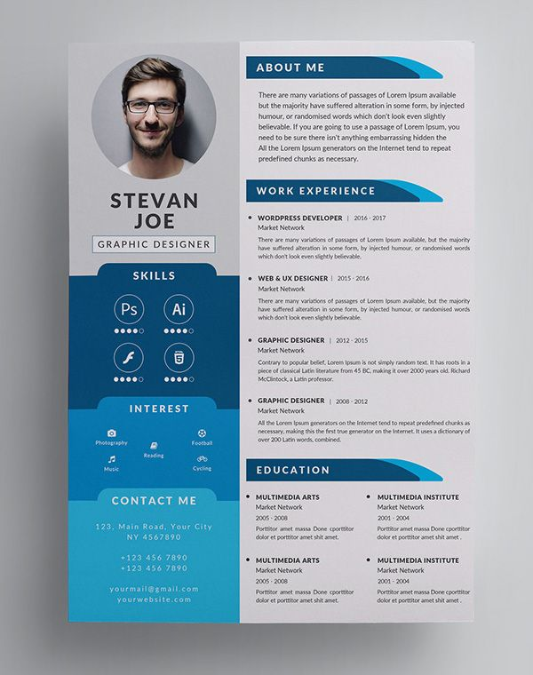 freebies for graphic design junction resume template creative cv commercial artist rn Resume Graphic Design Resume 2019