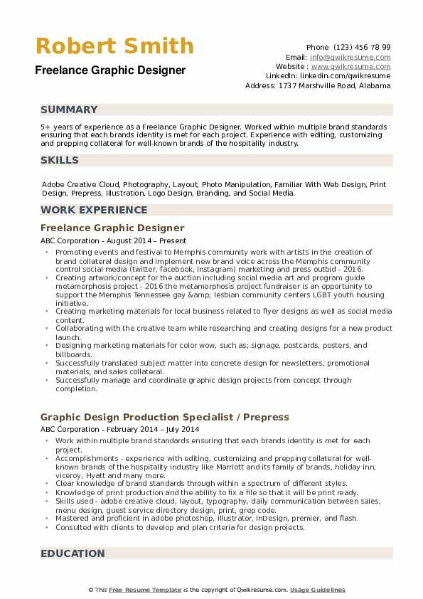 freelance graphic designer resume samples qwikresume design description for pdf sign Resume Graphic Design Description For Resume
