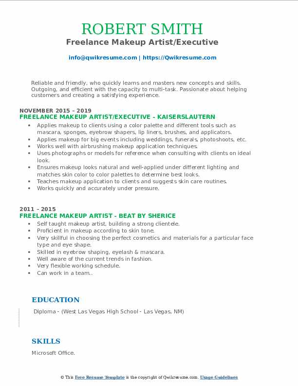 freelance makeup artist resume samples qwikresume pdf automotive product specialist Resume Makeup Artist Resume Freelance
