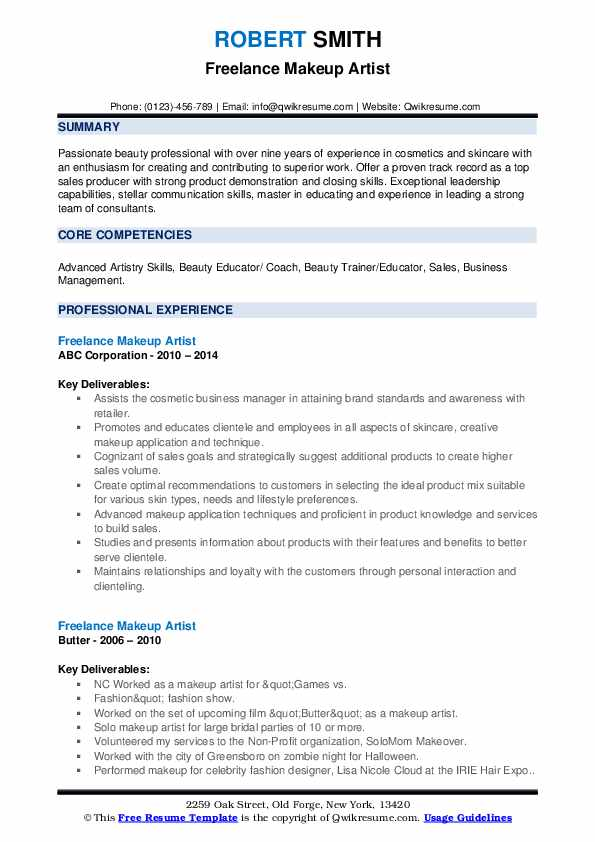 freelance makeup artist resume samples qwikresume pdf professional paper making your ats Resume Makeup Artist Resume Freelance