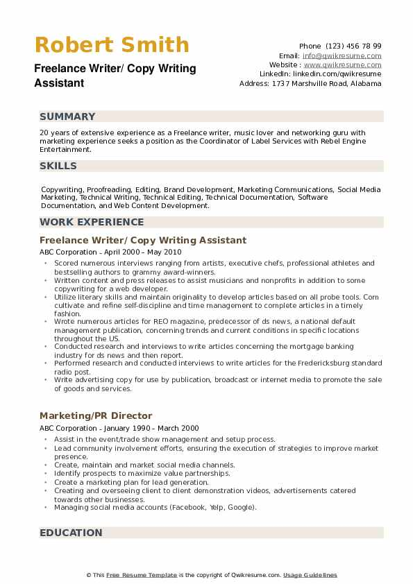 freelance writer resume samples qwikresume content pdf during college social media Resume Content Writer Resume Samples