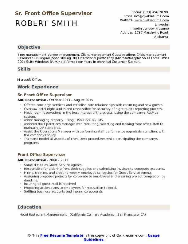 front office supervisor resume samples qwikresume post pdf clinical researcher tips on Resume Post Office Supervisor Resume