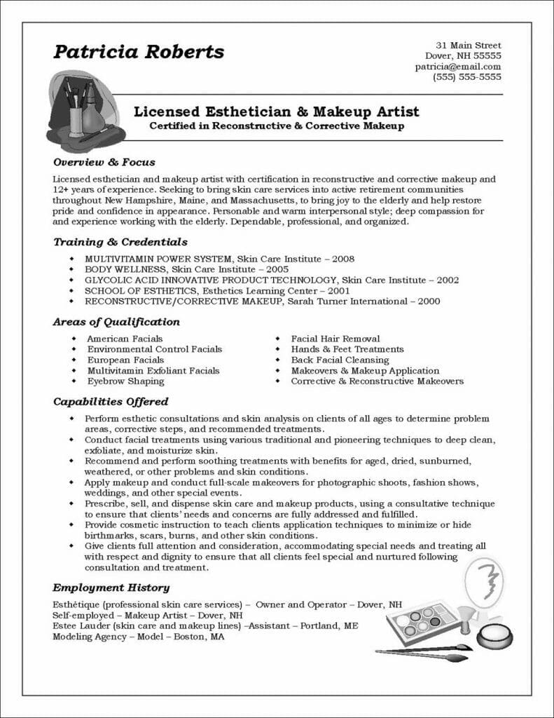 functional resume example distinctive career services 791x1024 without dates college Resume Functional Resume Example