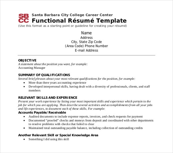 functional resume templates pdf free premium student career center template corporate Resume Student Functional Resume