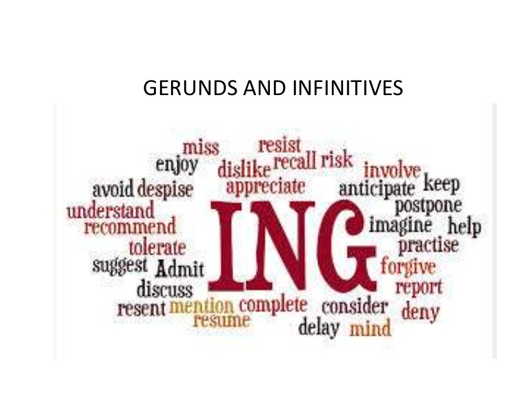 gerunds and infinitives resume gerund or infinitive gerundsandinfinitives phpapp01 Resume Resume Gerund Or Infinitive