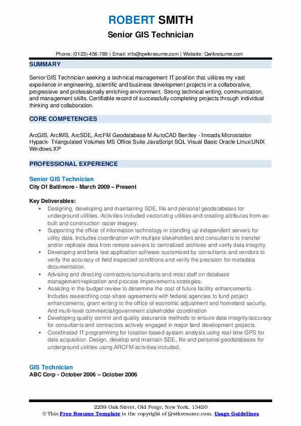 gis technician resume samples qwikresume analyst skills on pdf best format for executive Resume Gis Analyst Skills On Resume