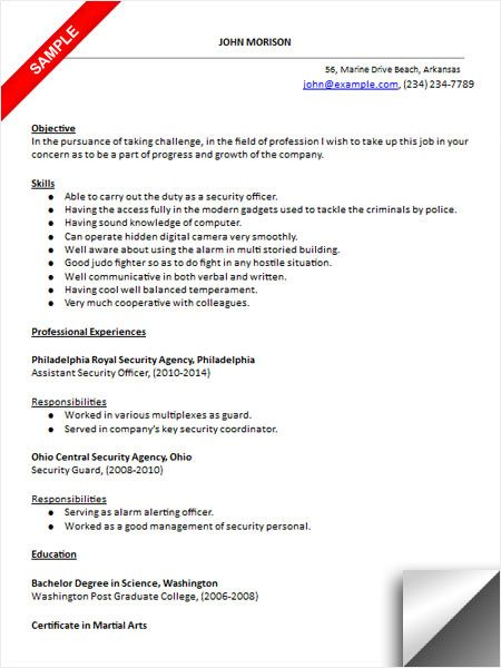 gone good resume examples security officer guard responsibilities guidewire testing Resume Security Guard Responsibilities Resume