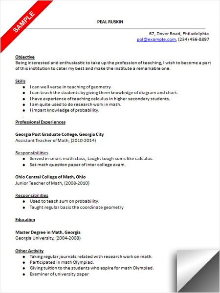 gone teacher resume examples math maths word format should pay for professional school Resume Maths Teacher Resume Word Format