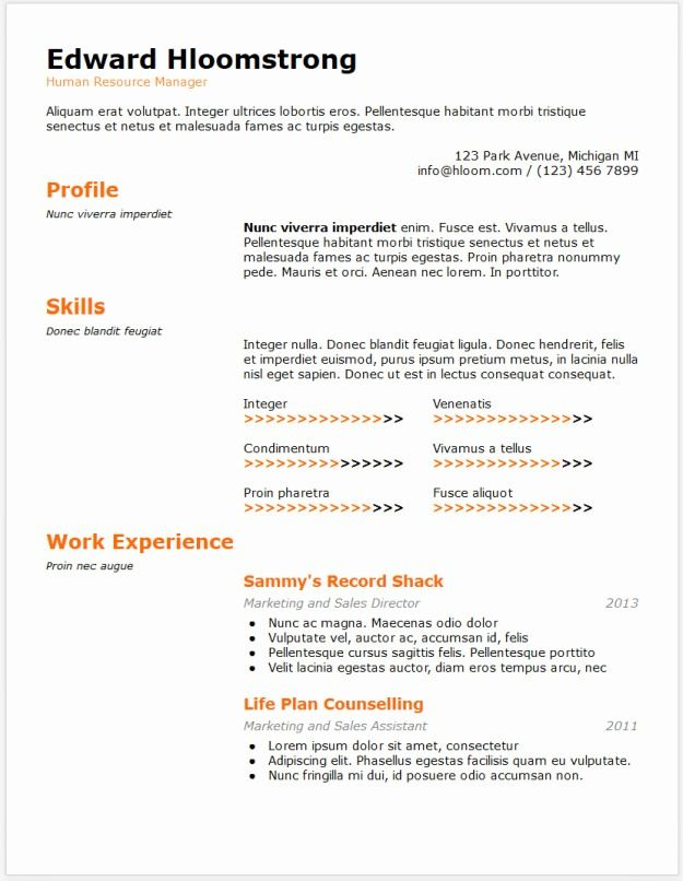 google docs resume templates downloadable pdfs template word examples skills background Resume Google Docs Resume Examples