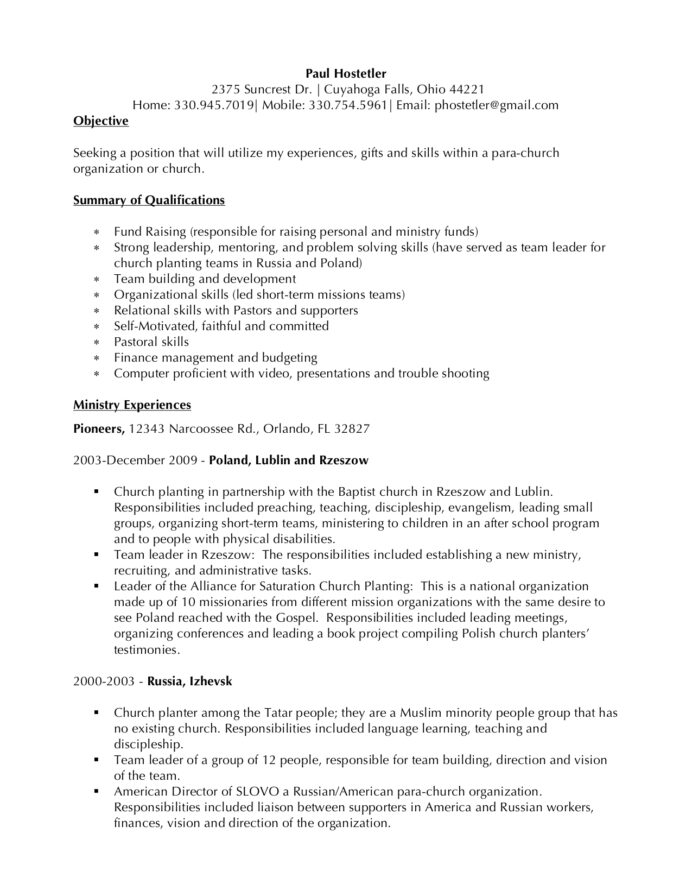 great resumes xpastor resume for pastoral position hostetler paul old instant review Resume Resume For Pastoral Position