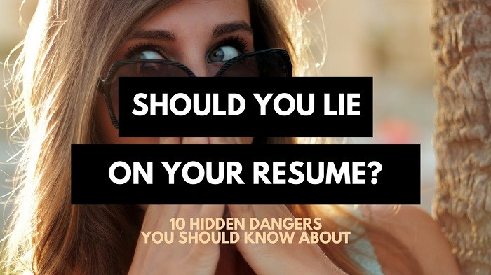 happens when you lie on your resume hidden dangers career sidekick can is it lying Resume Can You Lie On A Resume