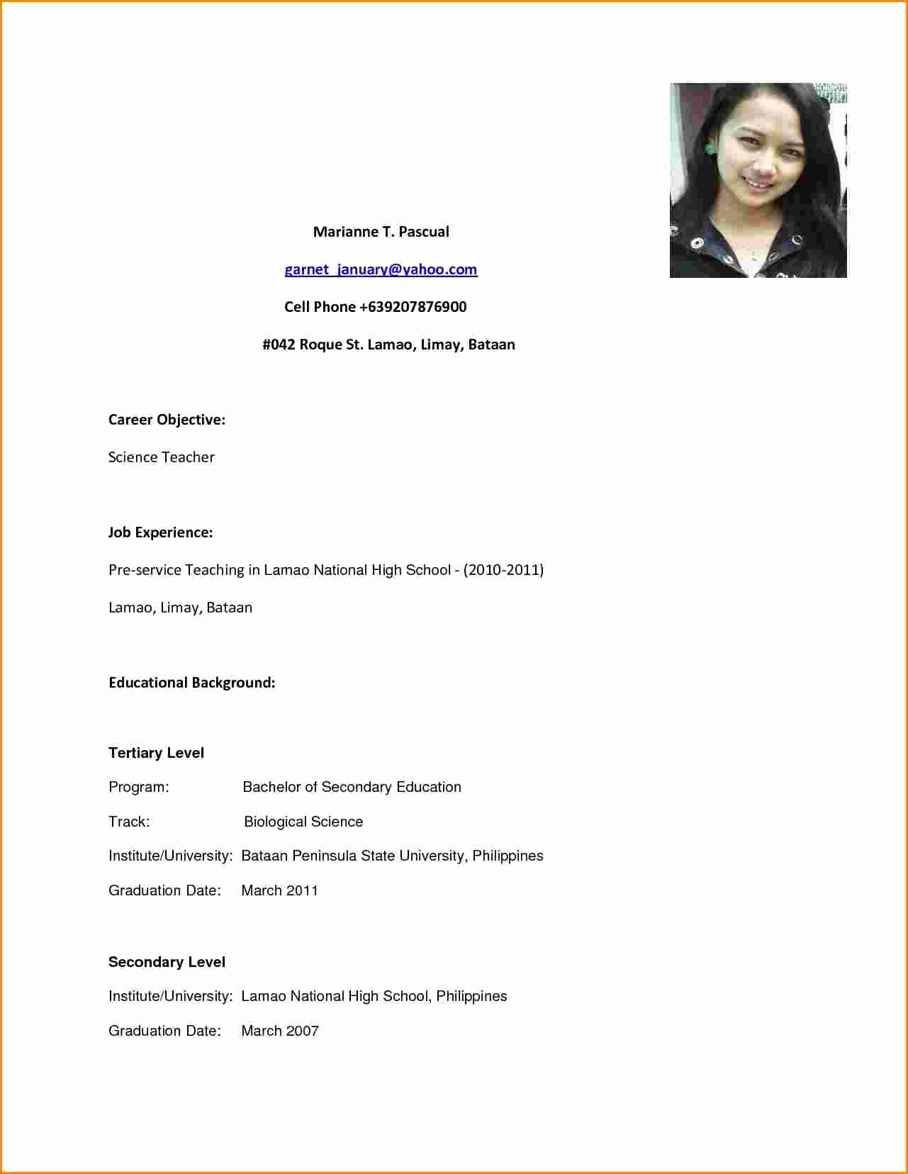 high school graduate resume ipasphoto job sample for with good and quality fire Resume High School Graduate Job Resume