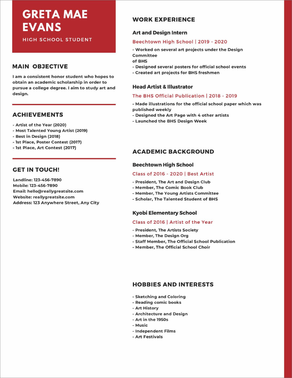 high school resume templates now template front desk receptionist medical office holistic Resume High School Resume Template